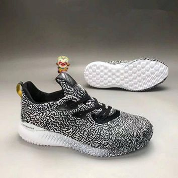 ONETOW Adidas' Unisex Sport Casual Trend Leopard Sneakers Couple Breathable Running Shoes