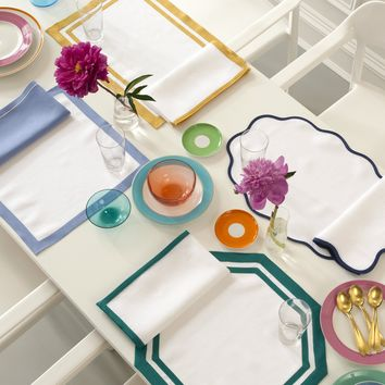Casual Couture Placemats & Napkins by Matouk