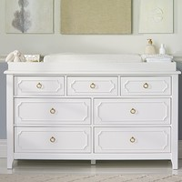 Ava Regency Extra Wide Dresser & Topper Set