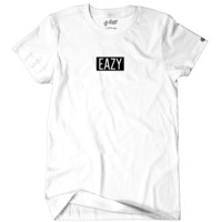Mini Eazy Box Logo Tee Wht
