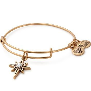North Star Charm Bangle