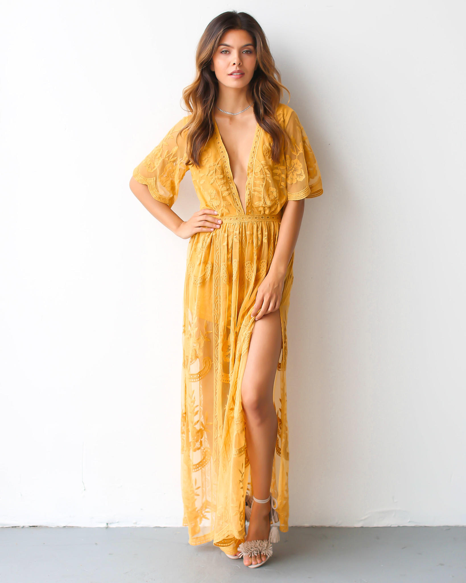 678c0d385a19 PREORDER - Thora Maxi Romper from Vici