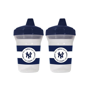 New York Yankees MLB 5oz Sippy Cup (2 Pack)