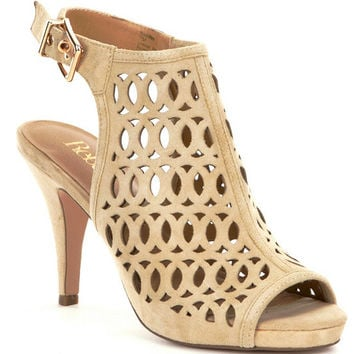 Reba Haddiee Perforated Dress Sandals | Dillards