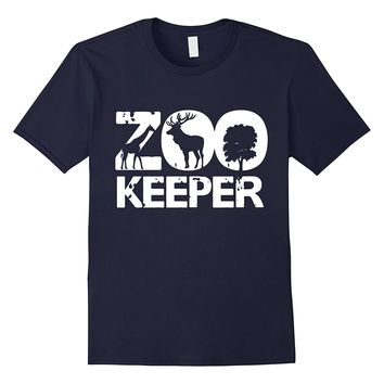 Zookeeper African Savanna Animal Print T-Shirt
