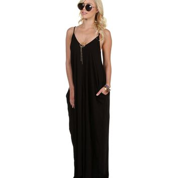 Black Sorority Girl Maxi Dress