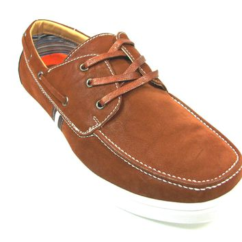 Mens Polar Fox Boat Moccasin Casual Oxfords Shoes 30212 Brown-378