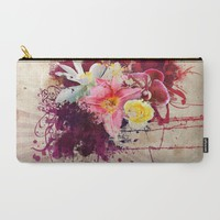 Country Floral Carry-All Pouch by Allison Reich