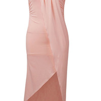Strapless Backless Bodycon Evening Cocktail Party Prom Bandage Dress