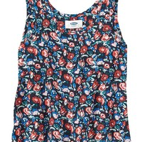 Old Navy Girls Printed Soft Tanks