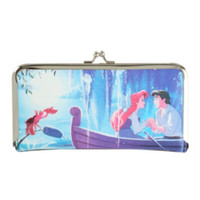 Disney The Little Mermaid Kiss The Girl Kisslock Hinge Wallet