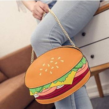 Foodies Cartoon Novelty Crossbody Mini Purse