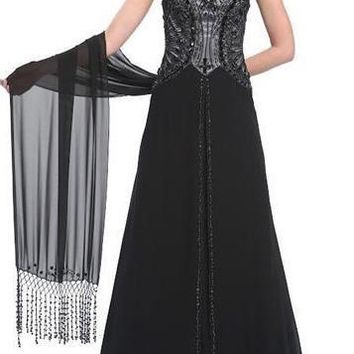 Sue Wong Long Evening Gown Formal Prom Dress
