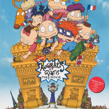 Rugrats In Paris: The Movie 11x17 Movie Poster (2000)