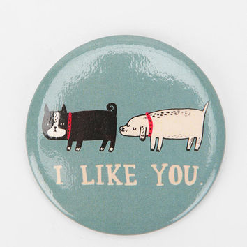 Urban Outfitters - Animal Button Magnet