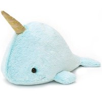 Nori the Narwhal Blue Plush Toy by Gund