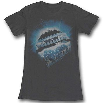 Daba Dee Dabu Die Back To The Future Juniors Tee Shirt