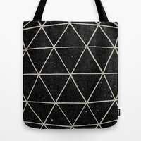 Geodesic Tote Bag by Terry Fan