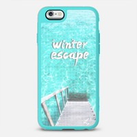 Holidays Winter Escape to the Islands iPhone 6s case by Love Lunch Liftoff | Casetify