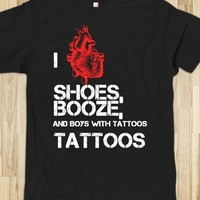 I heart Shoes, Booze, and boys with Tattoos - Miss Halloween