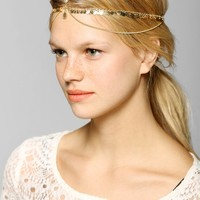 Coin Fringe Goddess Chain Headwrap - Urban Outfitters