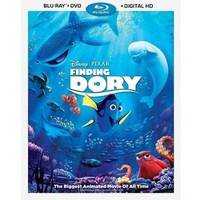 Finding Dory (Blu-ray + DVD + Digital HD) - Walmart.com