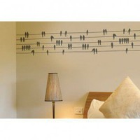 ADZif Spot Birds on a Wire Wall Decal - S2301 - All Wall Art - Wall Art & Coverings - Decor