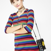 La Vida Loca Striped Dress