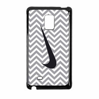 Nike Logo Chevron Graydc Samsung Galaxy Note Edge Case