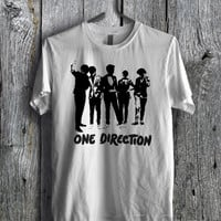 1D Silhouette Tees - zLi Unisex Tees For Man And Woman / T-Shirts / Custom T-Shirts / Tee / T-Shirt