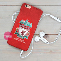 Liverpool FC-Never Walk Alone iPhone Case 3, 4, 5, 6 Cover