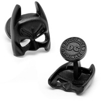 Satin Black Batman Mask Cufflinks