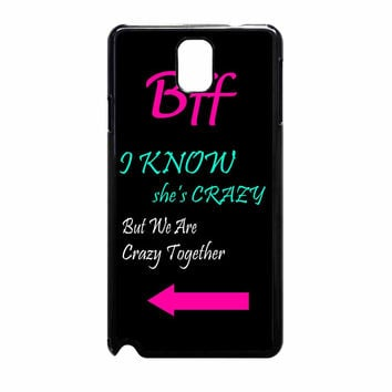Best Friends Bff In Pairs Right Samsung Galaxy Note 3 Case