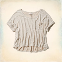Beacon's Beach Drapey Knit T-Shirt