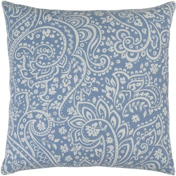 Somerset Throw Pillow Blue, Neutral