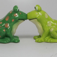 Kissing Frogs Salt & Pepper Shaker By Pacific