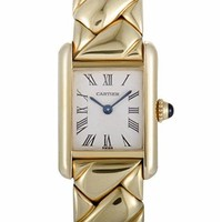 Cartier Tank Louis Cartier quartz womens Watch 169407 (Certified Pre-owned)