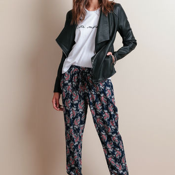 Neptune Ave Paisley Lounge Pants