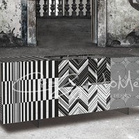 Sideboard with doors Optical Collection by CRAZY HOME | design Overdrive