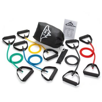 Black Mountain Products Resistance Band Set (Five Bands Included) - Walmart.com