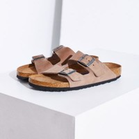 Birkenstock Arizona Nubuck Soft Footbed Slide