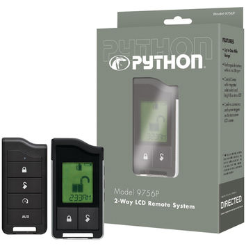 Python 9756p 2-way Lcd Rf Remote & Antenna With 1-mile Range