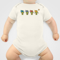 TMNT Chibis Onesuit by Katie Simpson | Society6