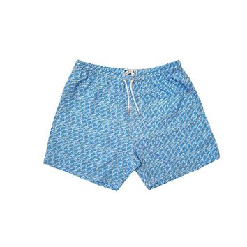 Bermies Classics Waves Trunks Blue