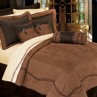 Barbwire 7 Piece Comforter Set by Homemax