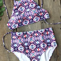 Cupshe Good Form Tank Bikini Set