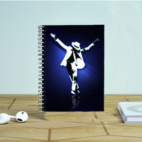 Michael Jackson Photo Notebook Auroid