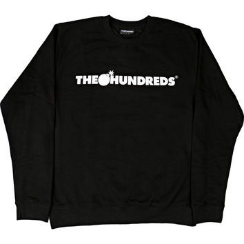 The Hundreds Forever Bar Crewneck - Black