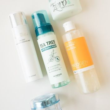 5 Step Acne & Sebum Control Set Curated By Soko Glam