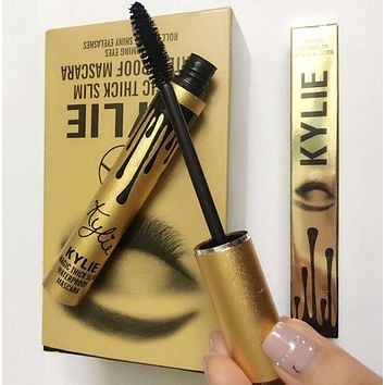 KYLIE Long Eye Lashes Makeup Waterproof Eyelash Metal Brush Head Mascara